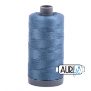 Aurifil 28 Cotton Thread - 1126 (Grey/Blue)